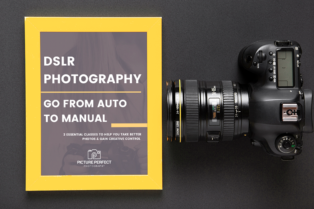 DSLR Photography Course - Go from auto to manual