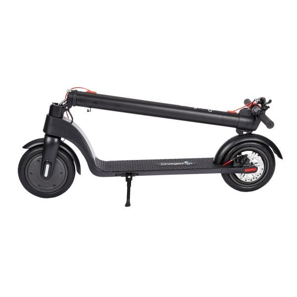 White Background E-Commerce Photography - Charged Scooters