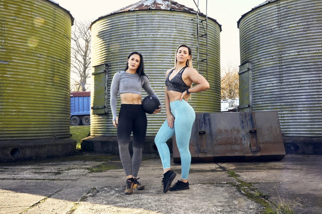 Fitness Clothing Photography