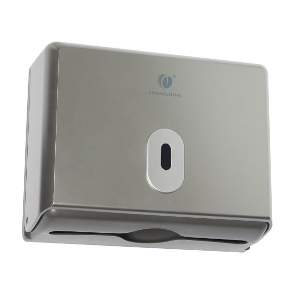 White Background E-Commerce Product Photography Paper Towel Dispenser