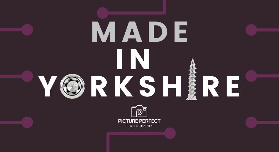 Made in Yorkshire Logo Product Photography