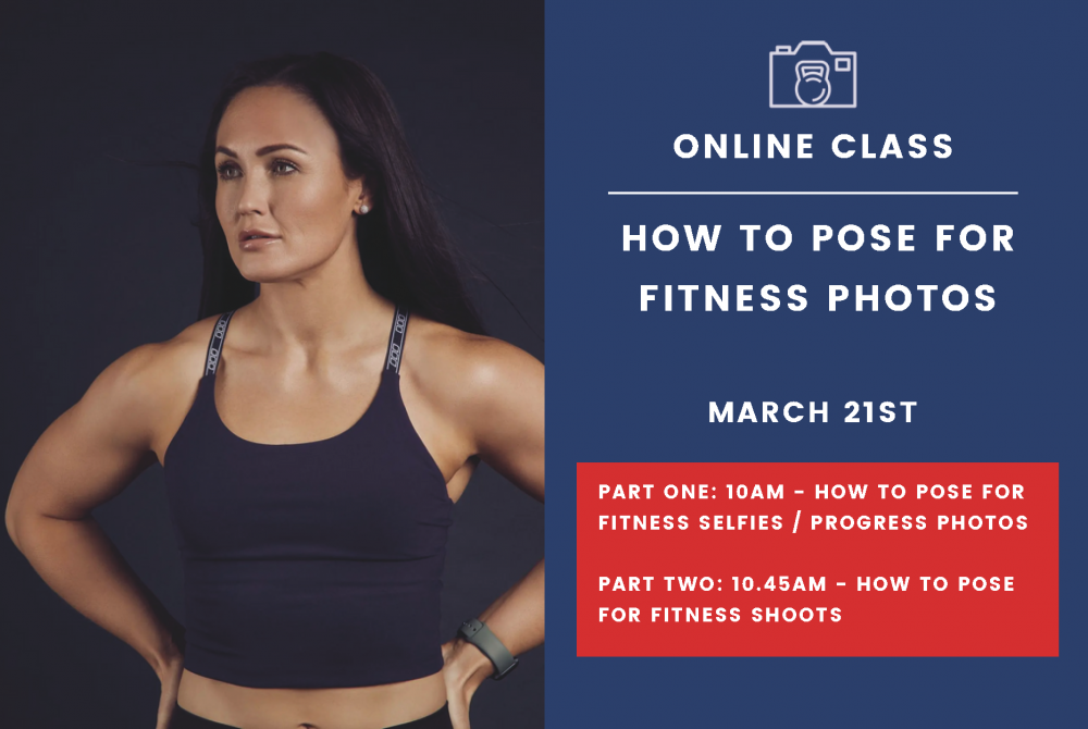 Posing Class Graphic - Fitness Photography