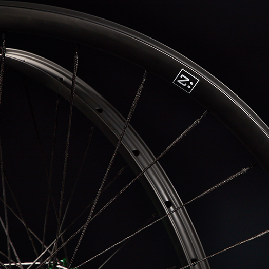 Zed Bike Wheels - Sports Product Photography