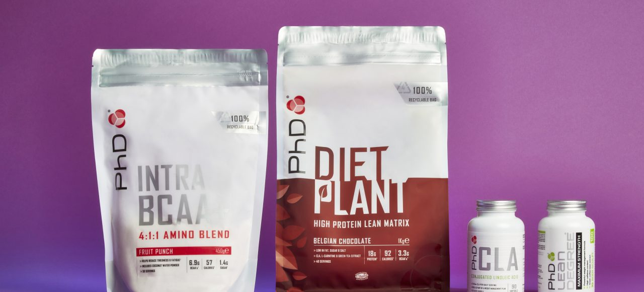PhD Nutrition Product Photography