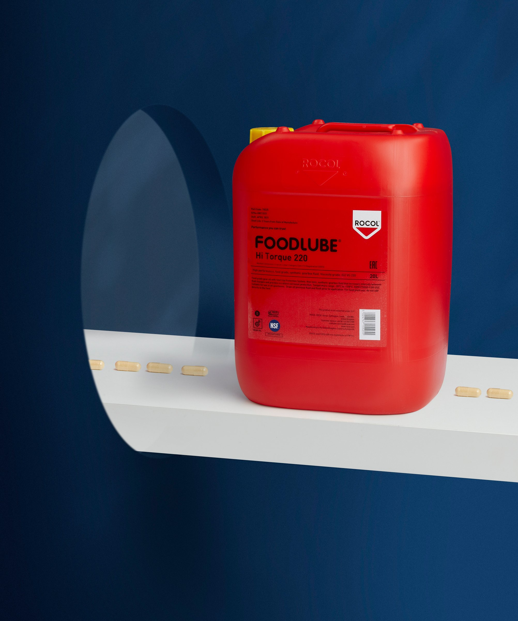 ROCOL Product Industrial Photography